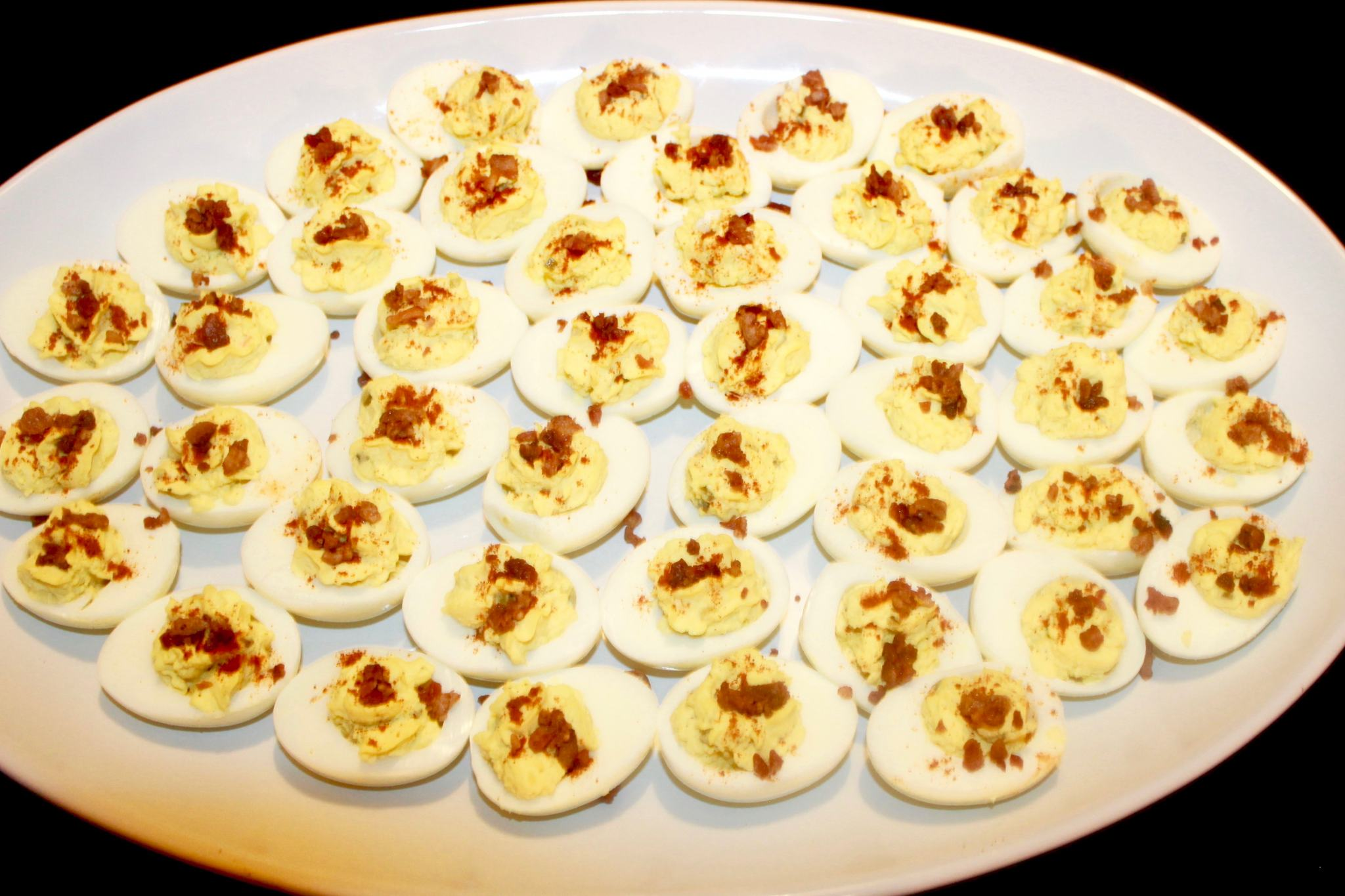 The best deviled eggs with bacon