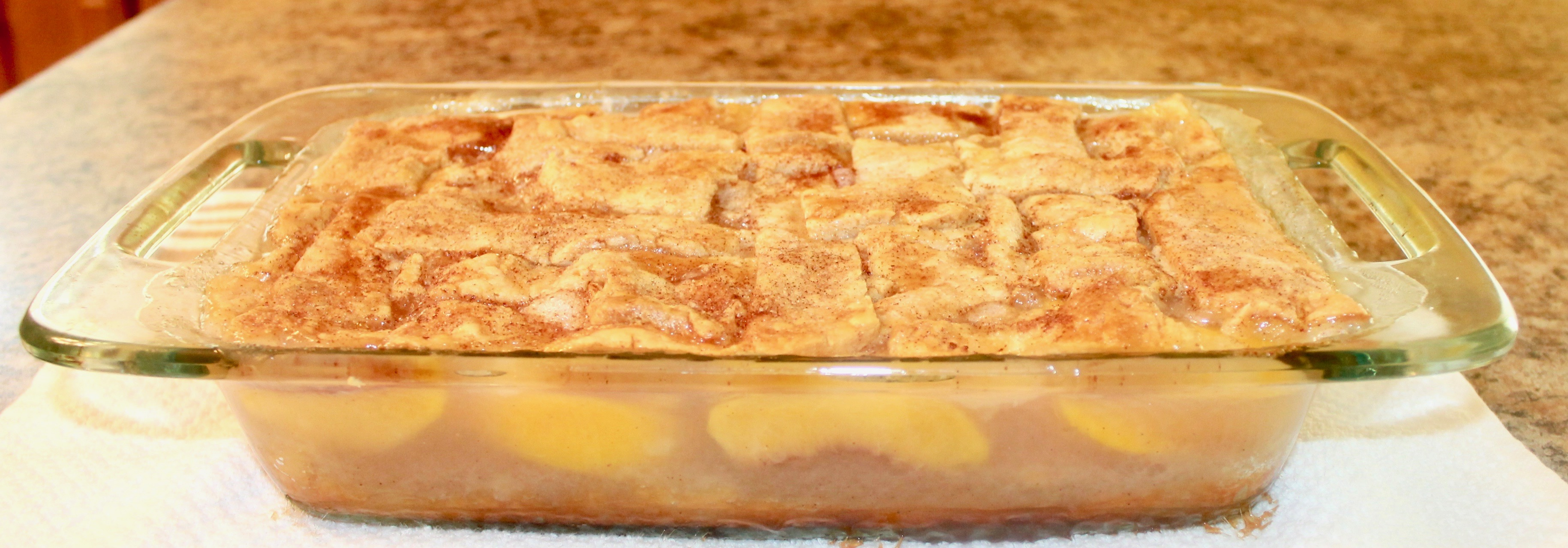 How to make a peach cobbler from scratch