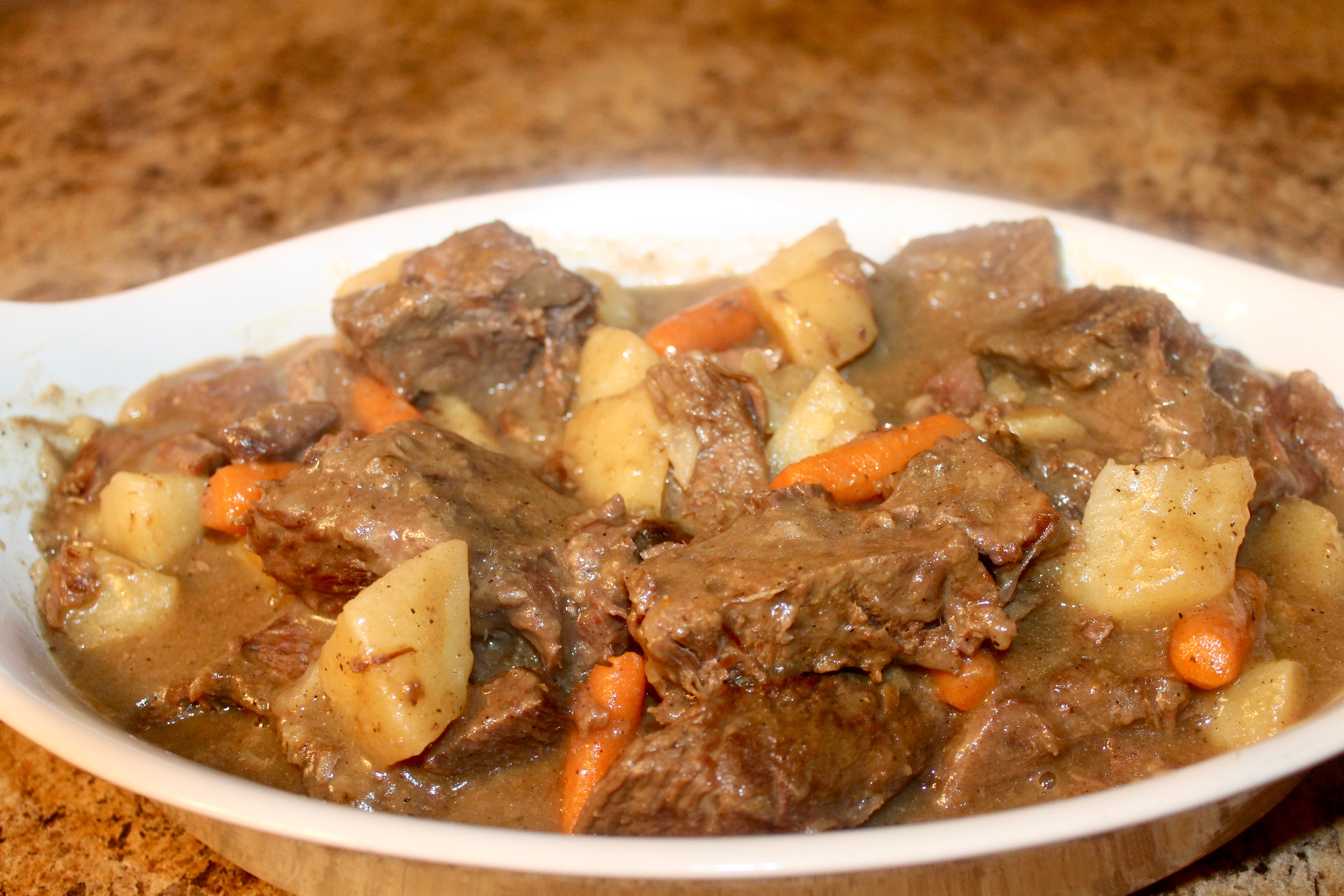 Pot Roast is a great dish for Sunday Dinners