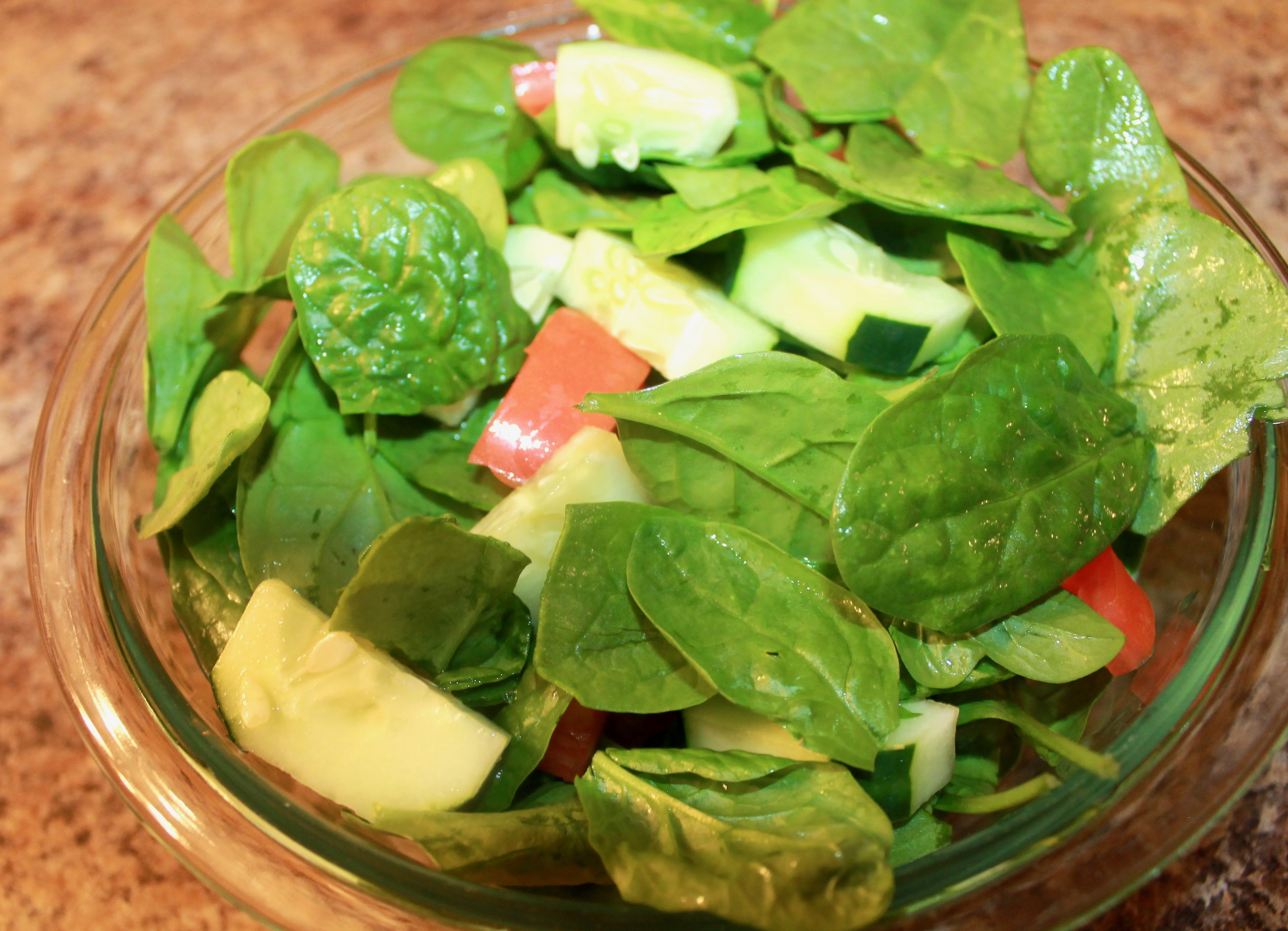 How to Make A Baby Spinach Salad
