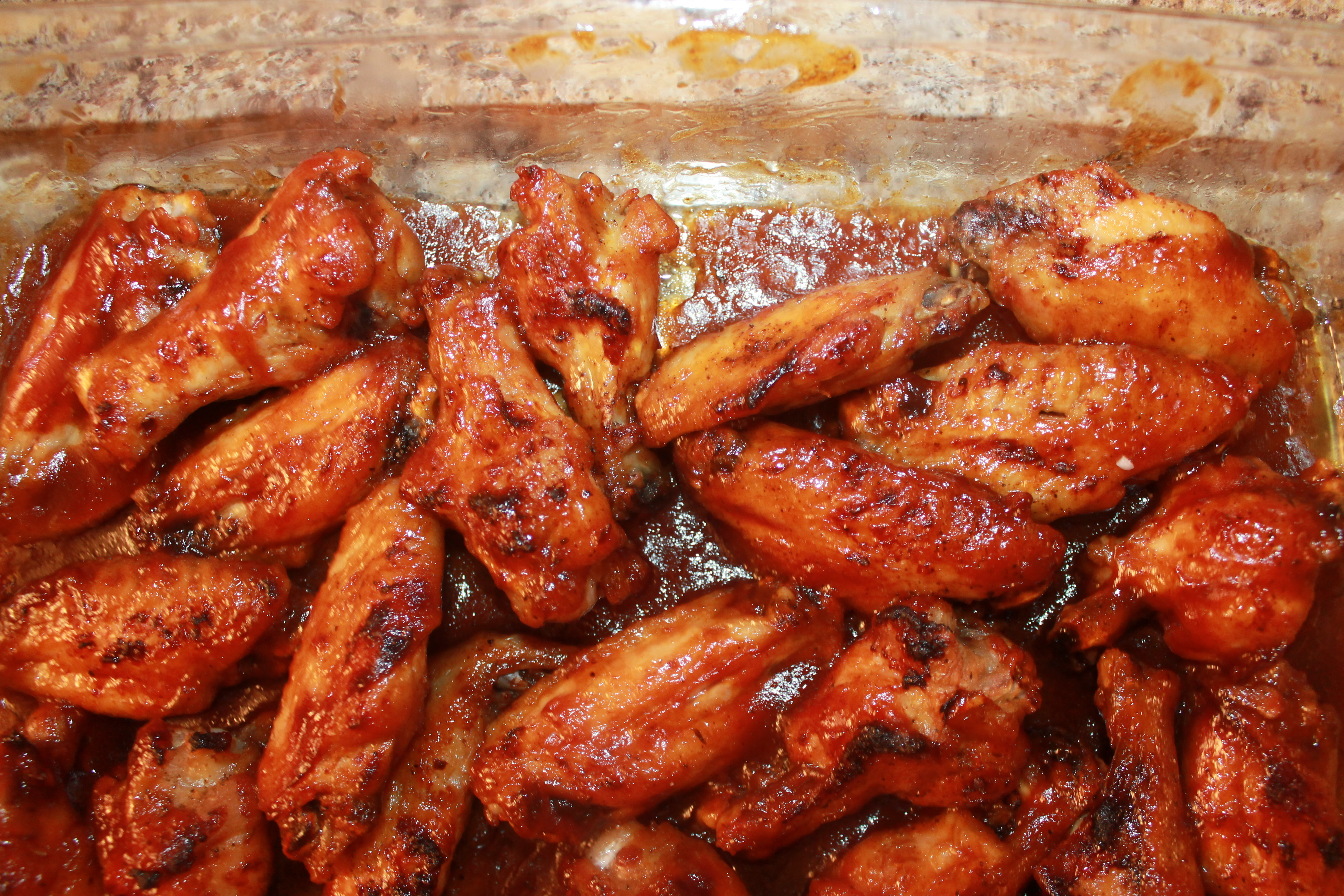 Barbecue Hot Wings
