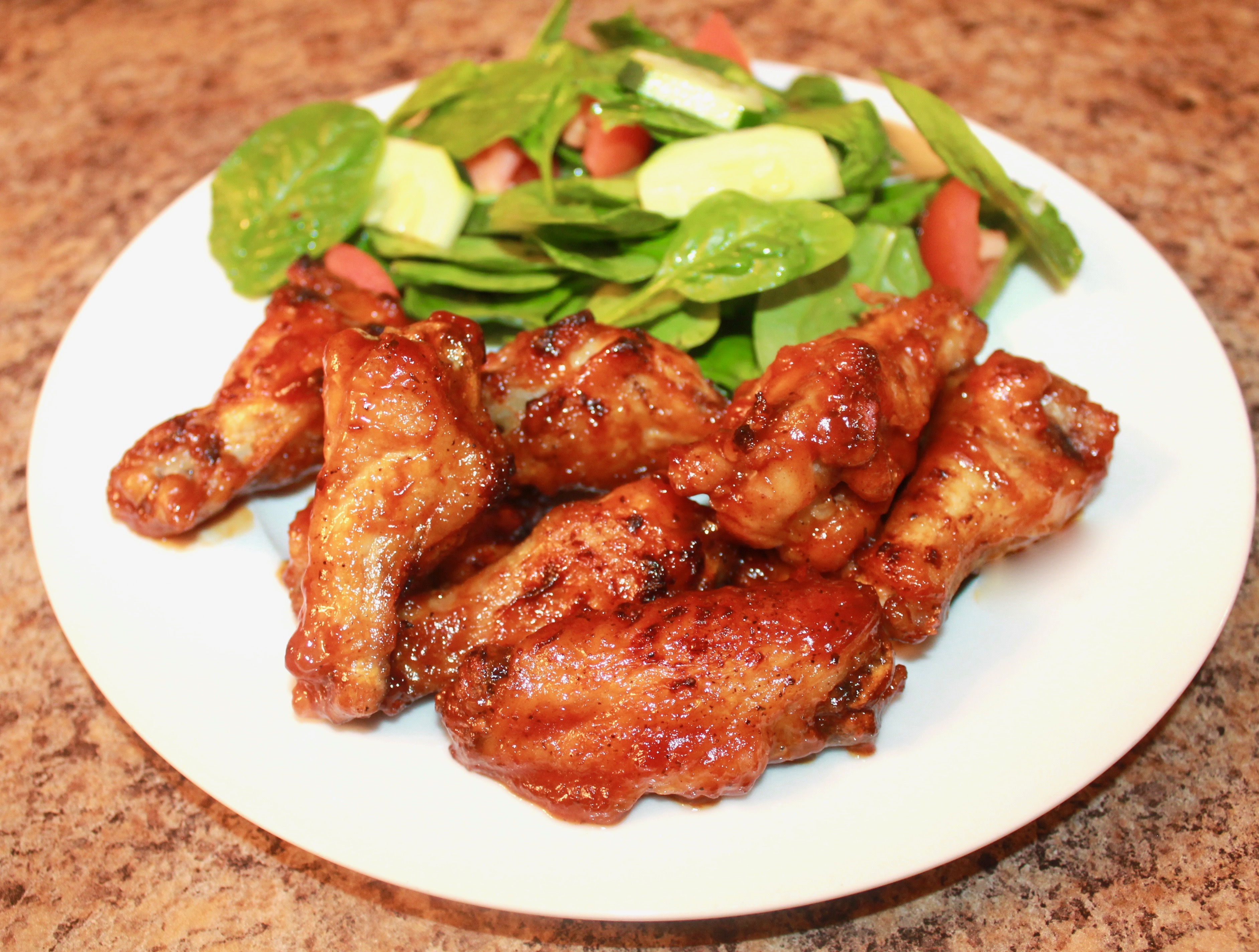How to Make Barbecue hot wings