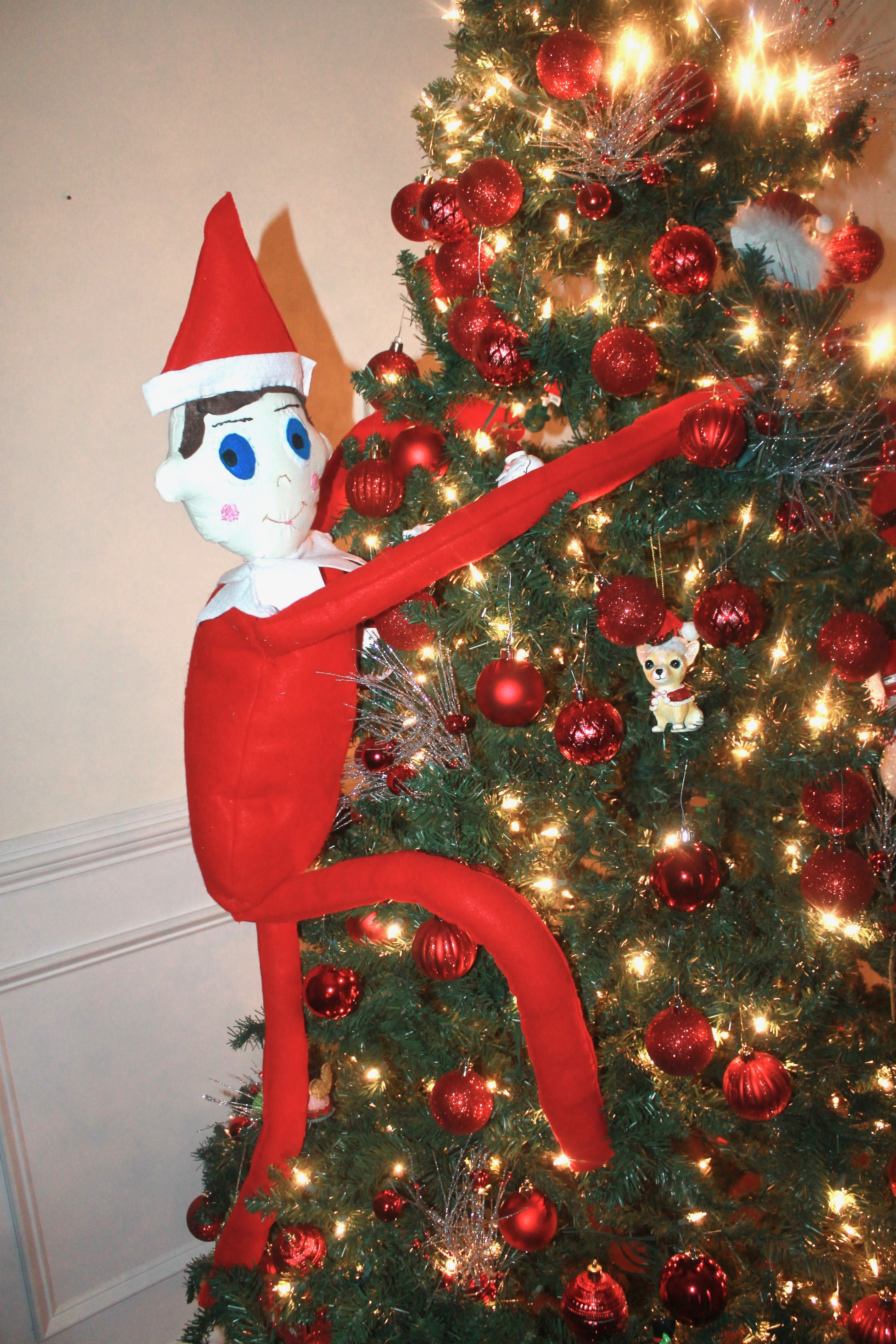 How to make a Life-size elf on the shelf