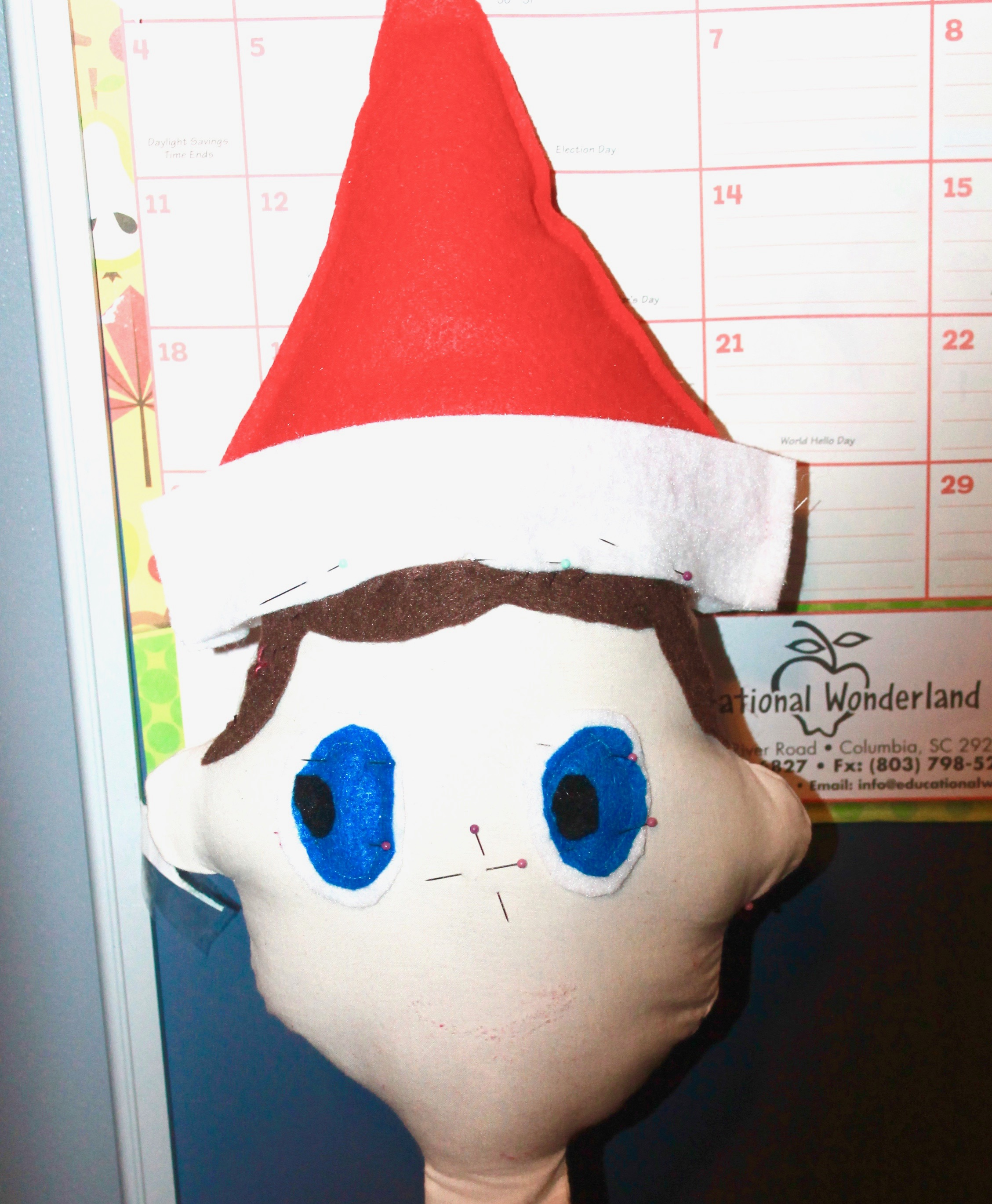 How to Create a Life-size Elf on the Shelf