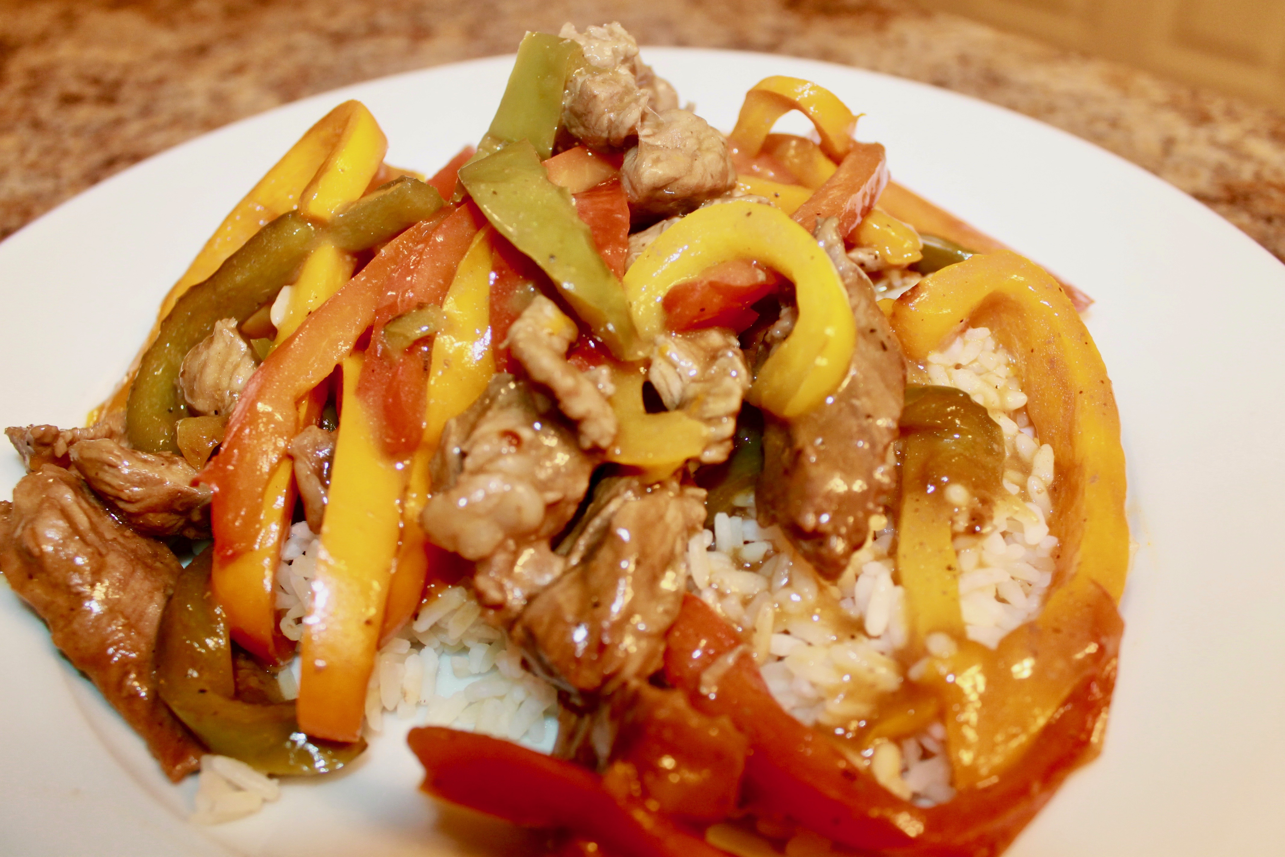 A quick, easy, and savory pepper steak recipe