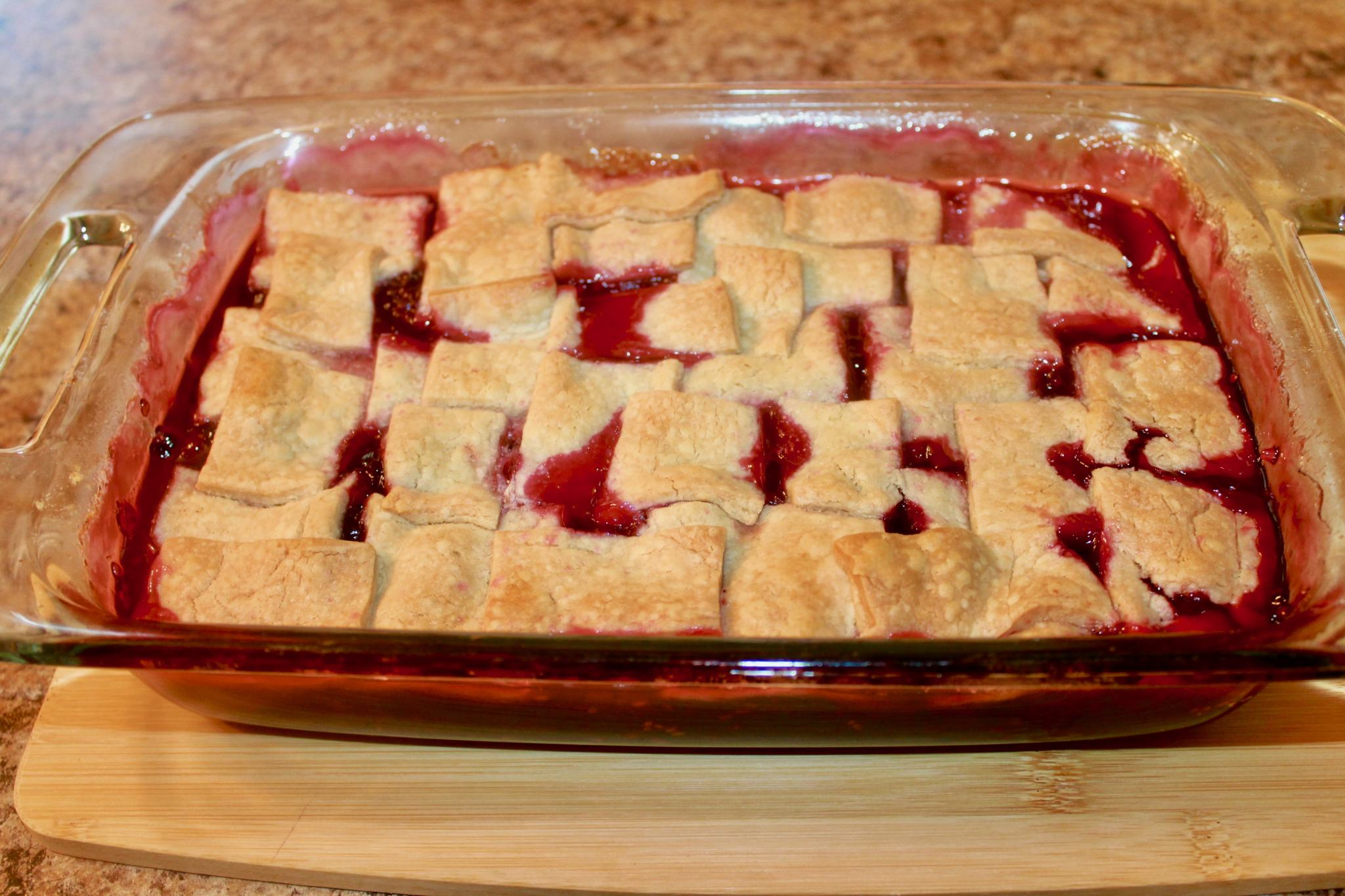 A Blackberry Cobbler Recipe