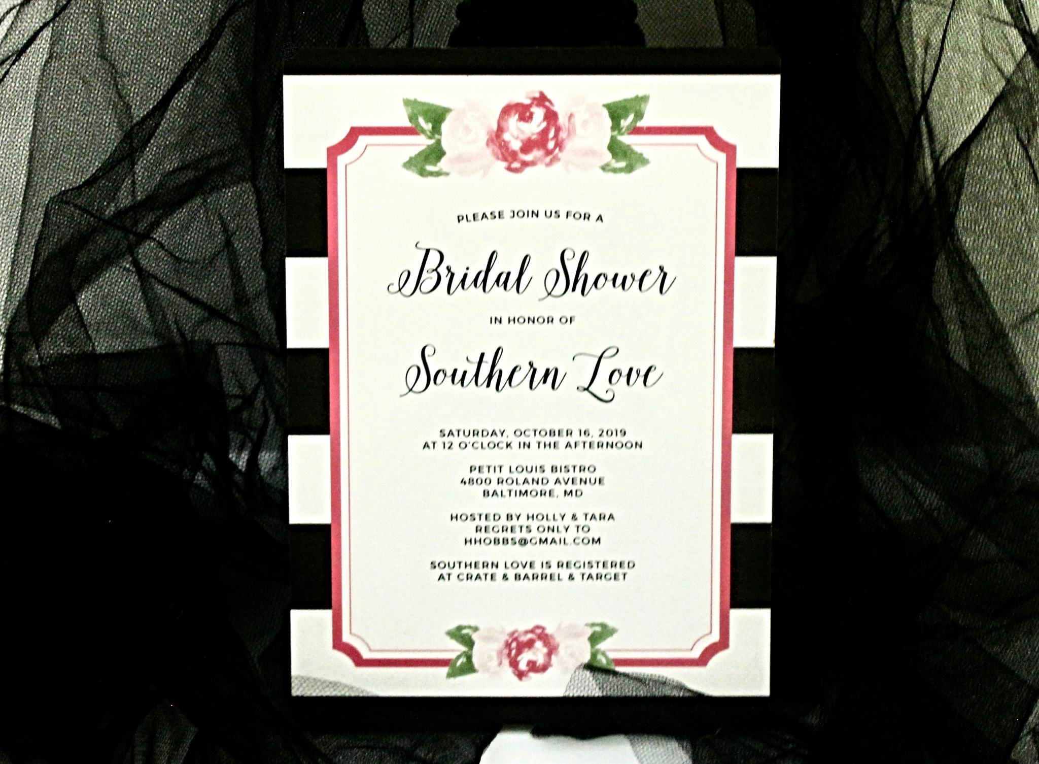 Basic Invite Bridal Invitations