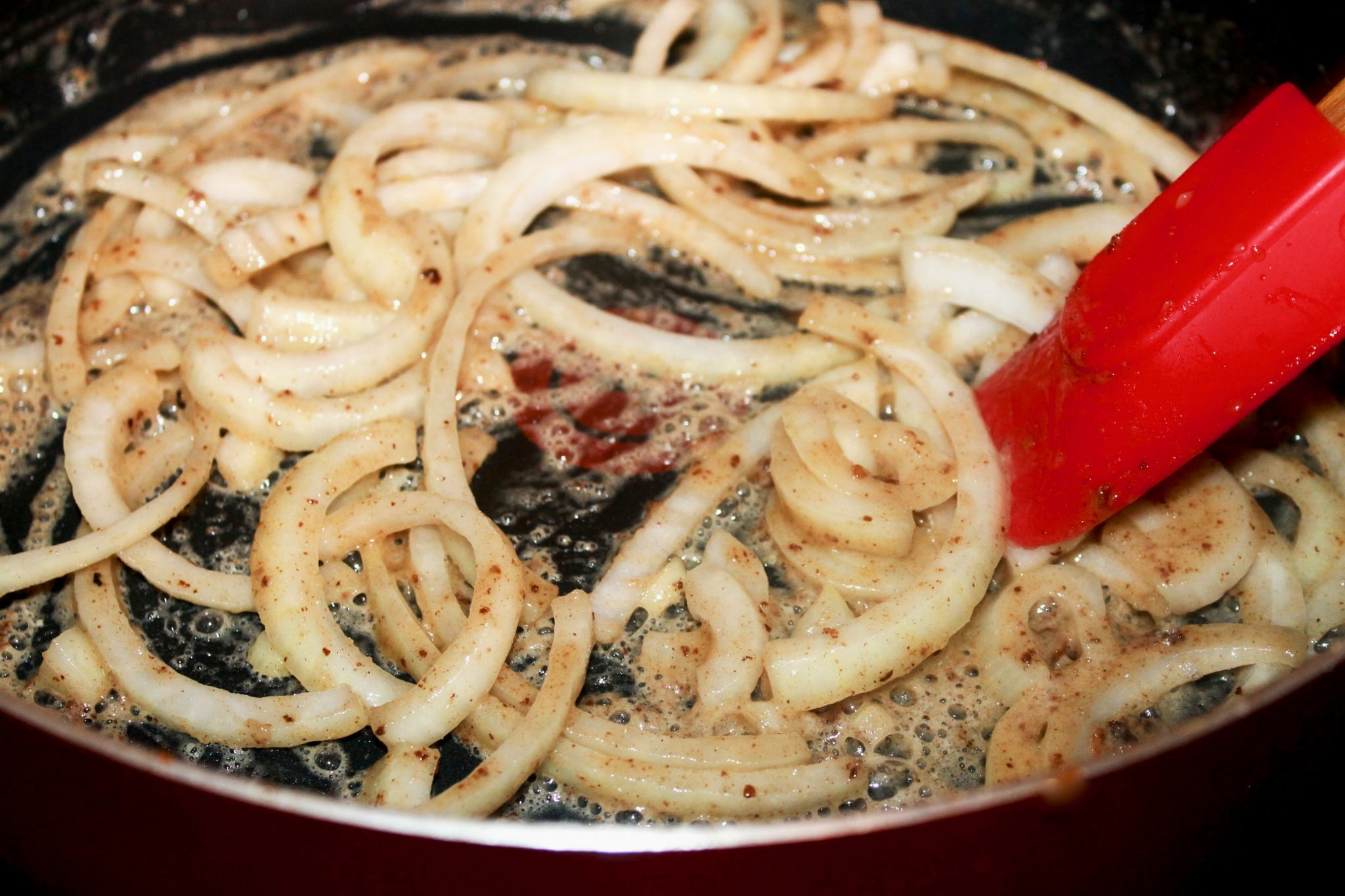 Sautéing Onions for short ribs