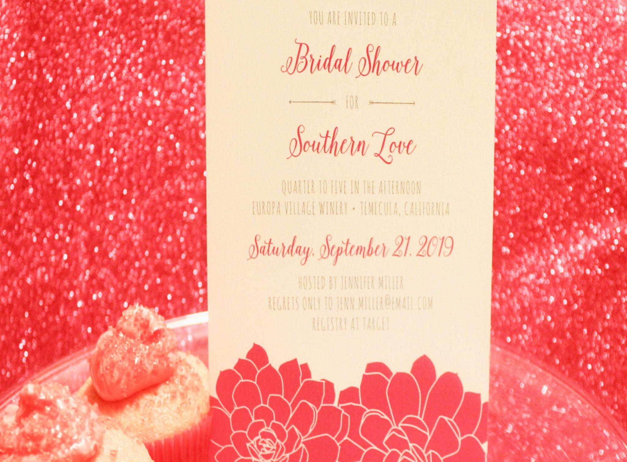 Bridal Shower Invitiations