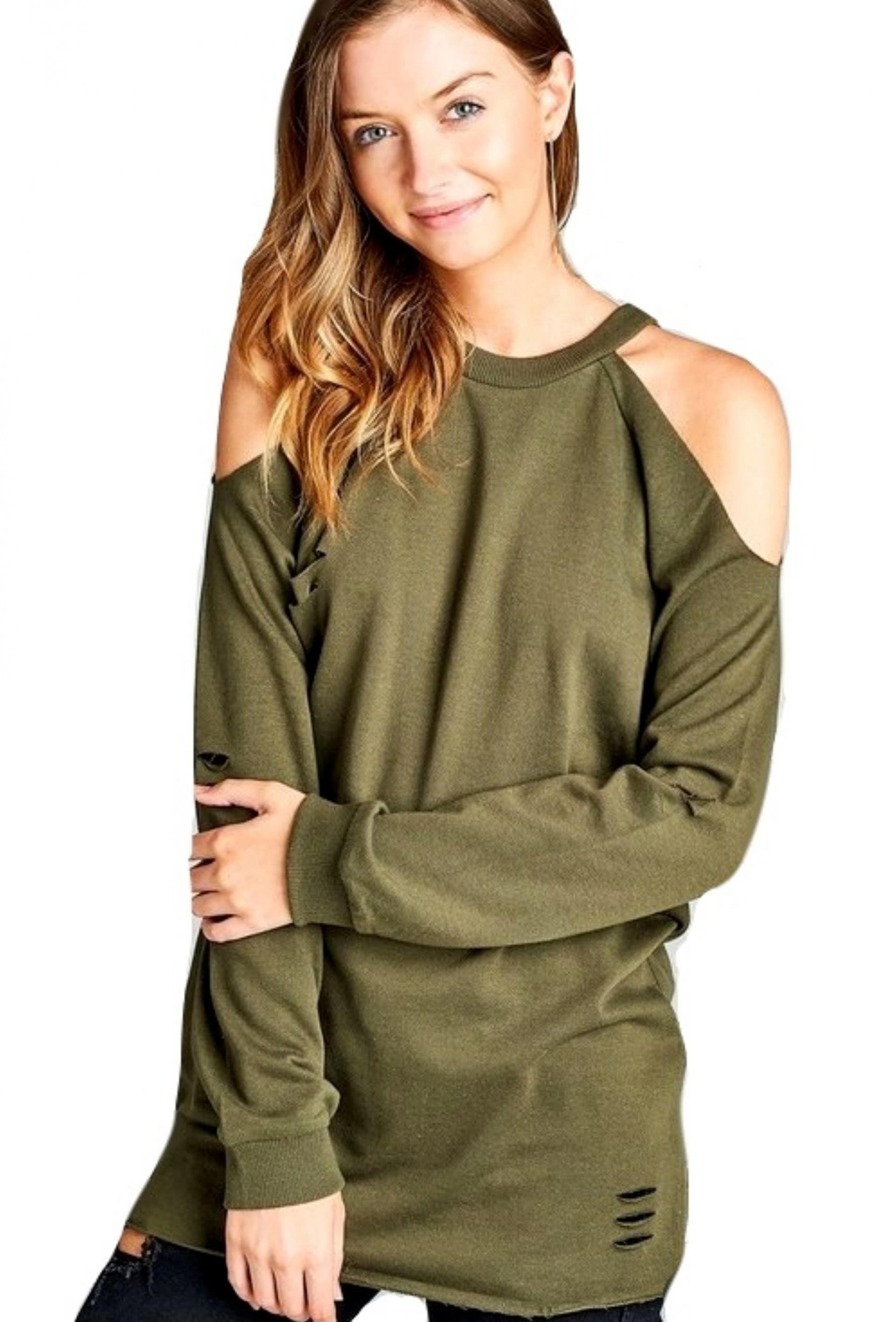 Distressed Tunic