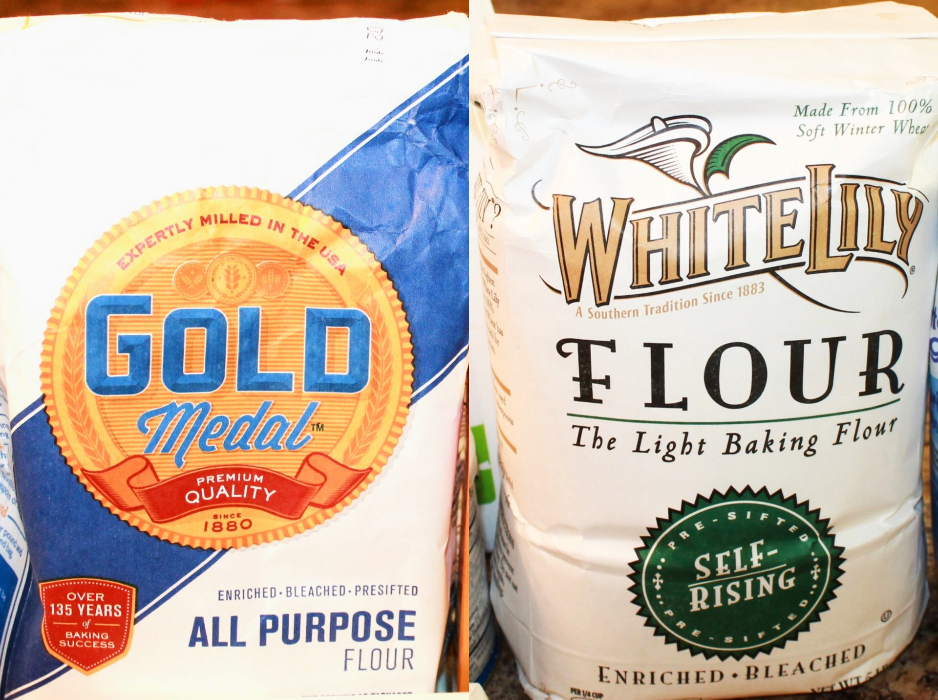All-Purpose Flour or Self-rising flour for homemade biscuits
