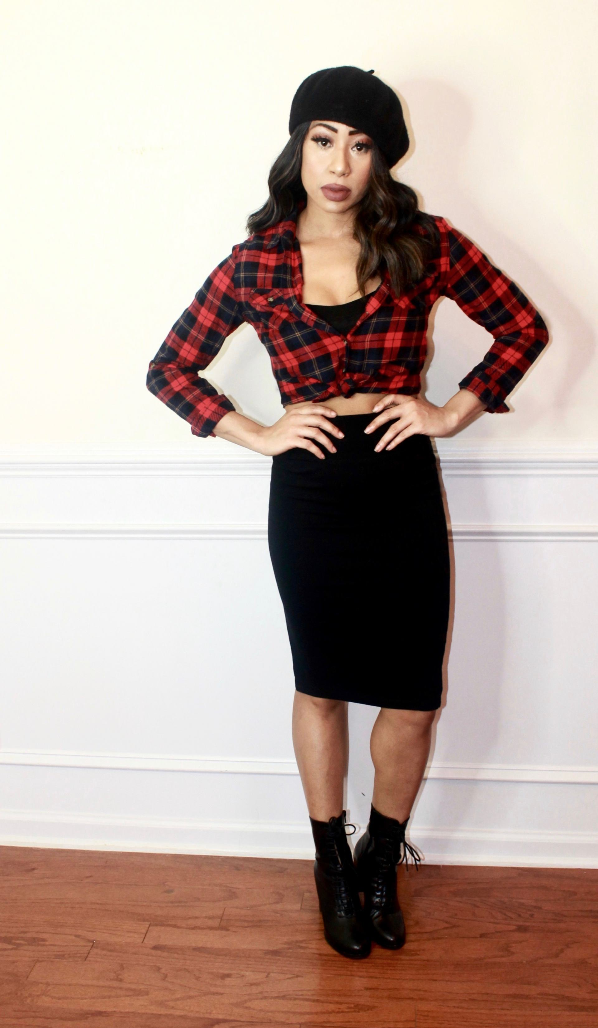 Three ways to Style a Plaid Shirt in Fall