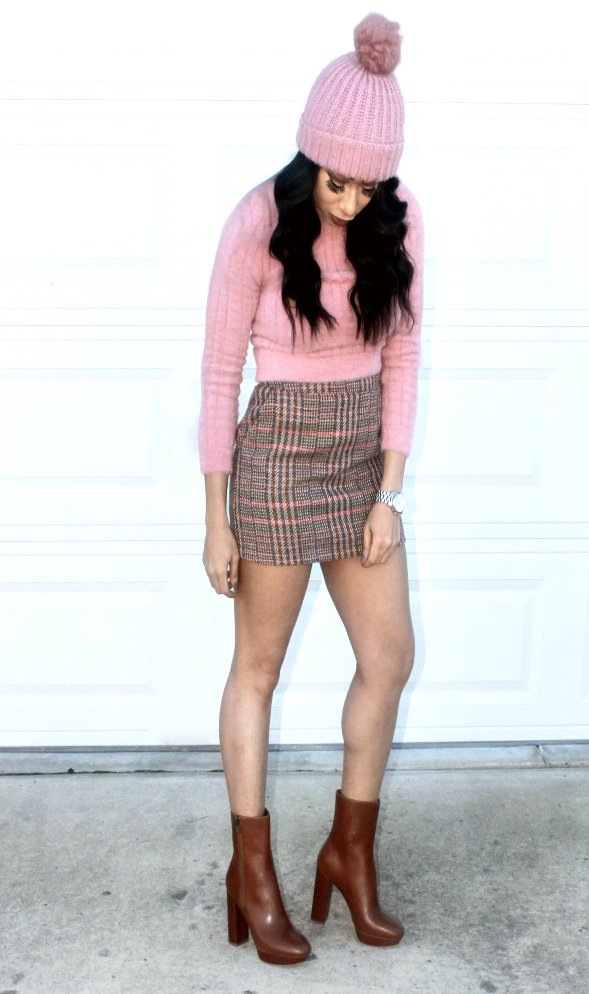 How to Wear Blush pInk in the fall