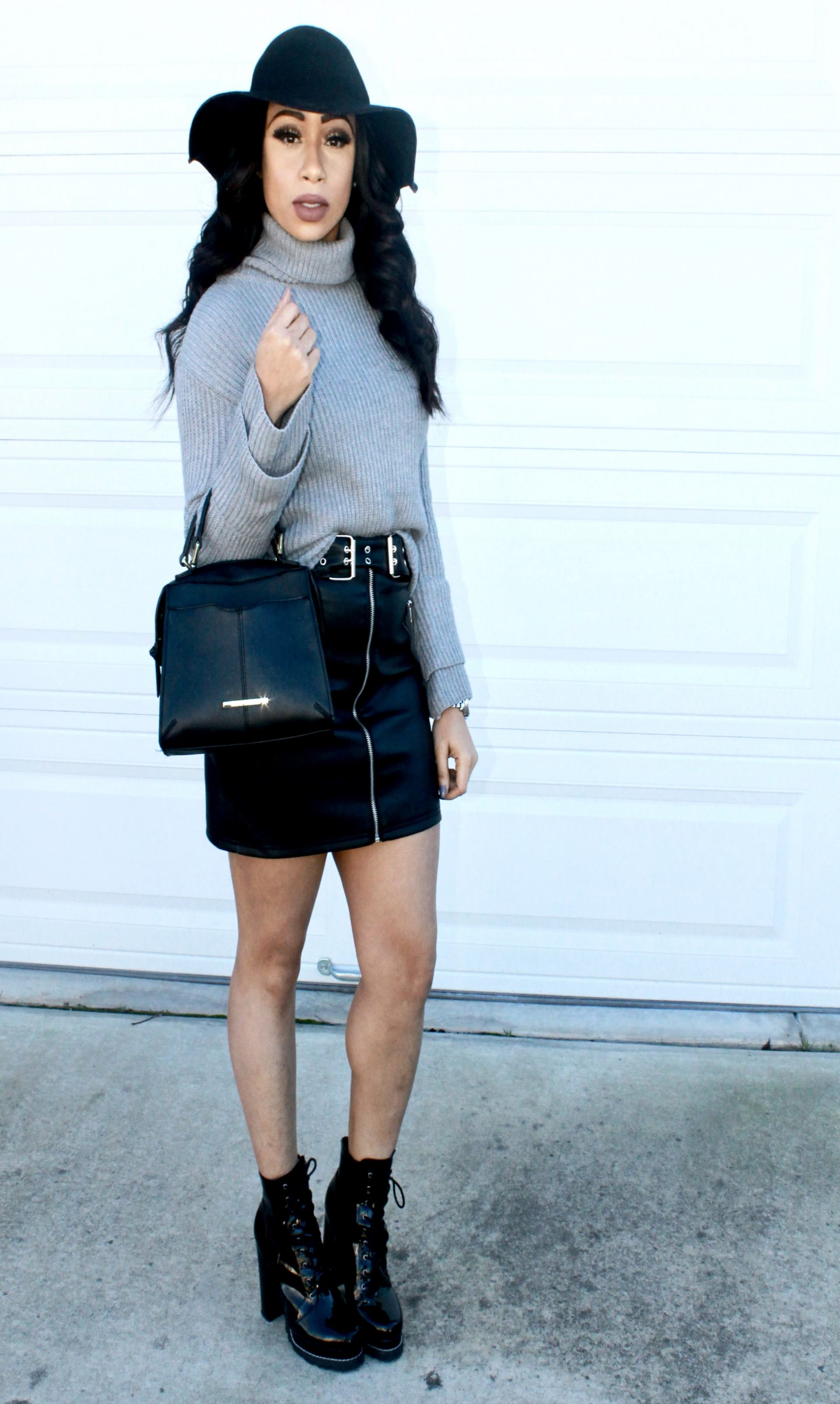 My favorite outfit idea with a chunky sweater