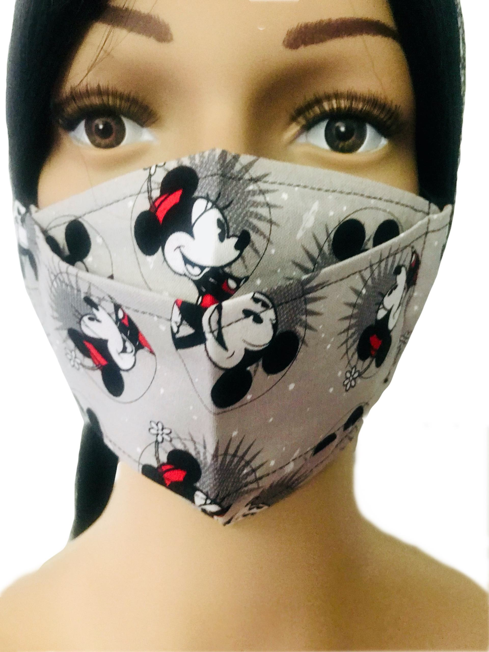 Mickey and Minnie Cloth Face Mask
