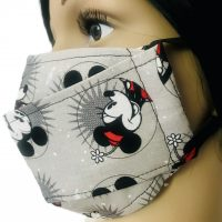 Mickey and Minnie Mouse Cloth Face Mask