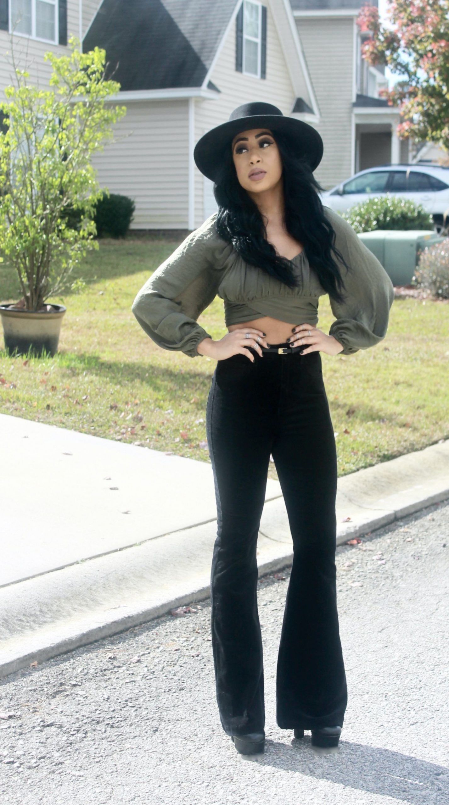 Wide Leg Jeans for a petite frame