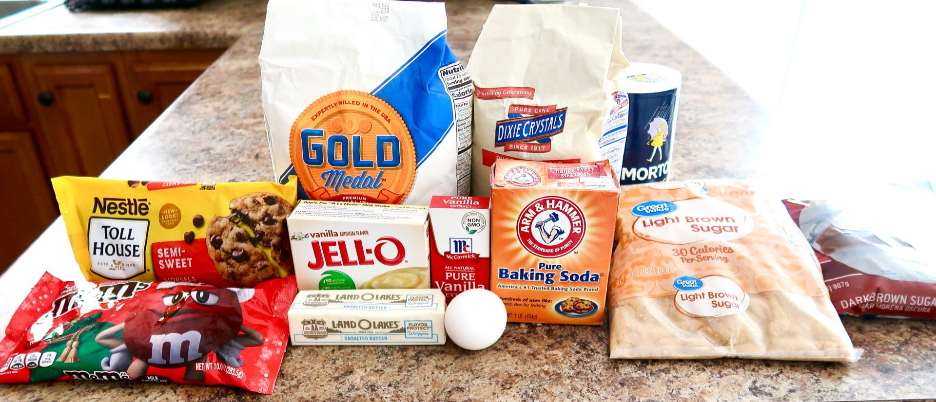 Chocolate Chip Cookie Recipe Ingredients
