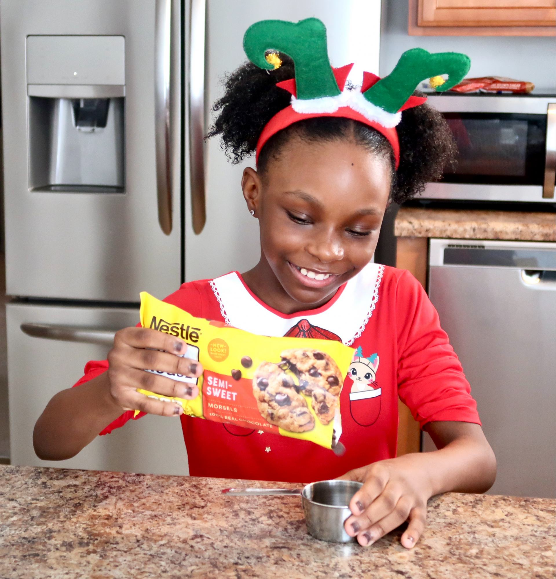 The ingredients for the most amazing chocolate chip cookie recipe