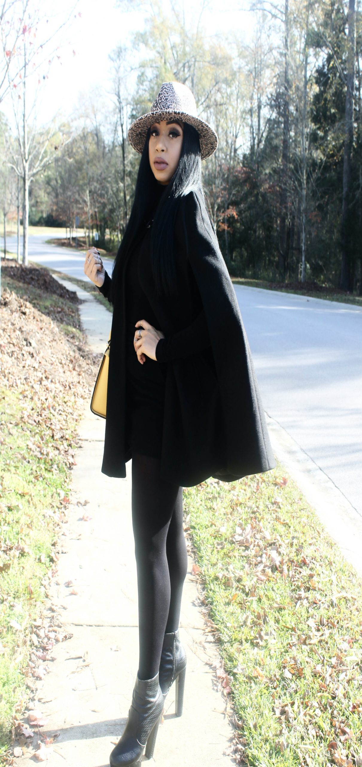 How to Wear a Cape Coat in 2020
