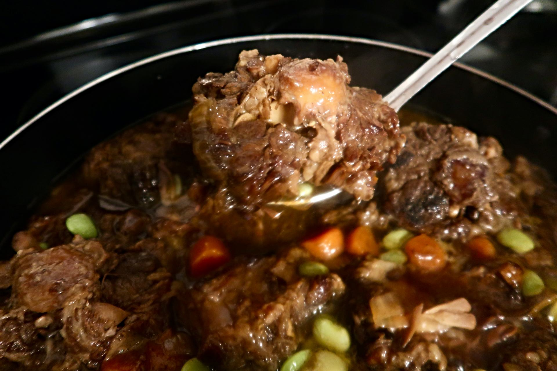 A delicious Crockpot Oxtail recipe
